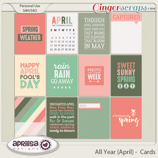 All Year {April} - Cards