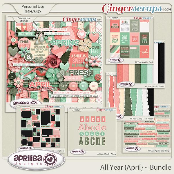 All Year {April} - Bundle