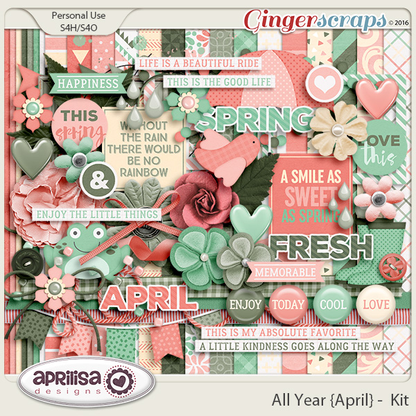 All Year {April} - Kit