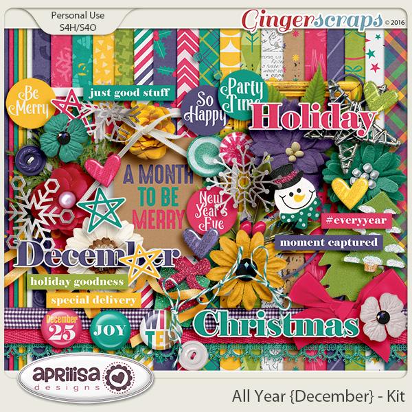 All Year {December} - Kit