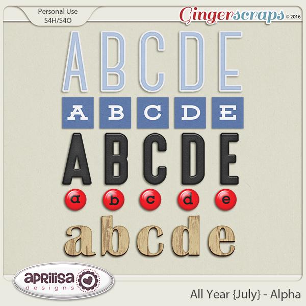 All Year {July} - Alpha