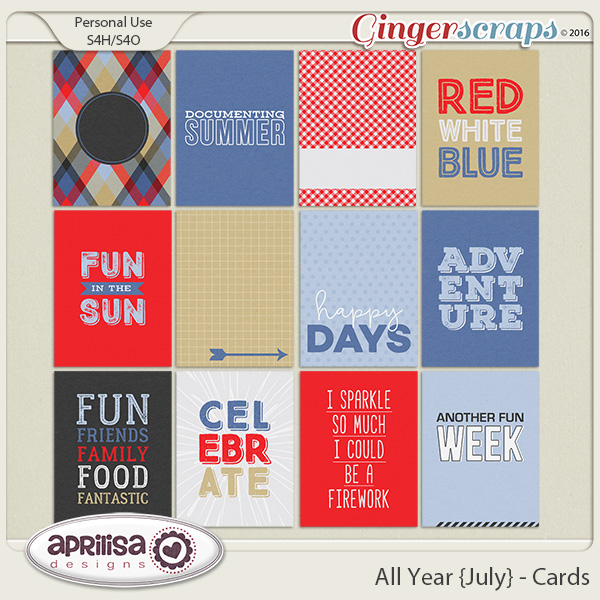 All Year {July} - Cards