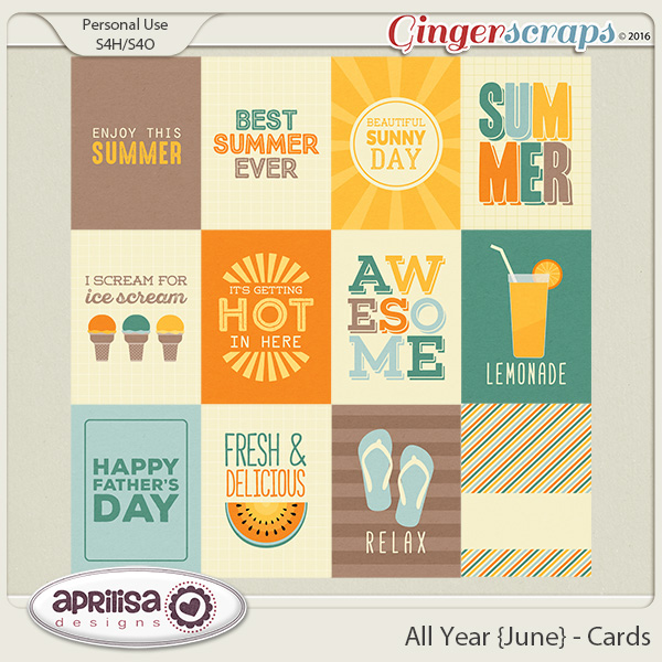 All Year {June} - Cards