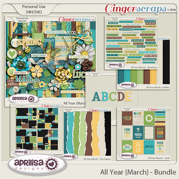 All Year {March} - Bundle