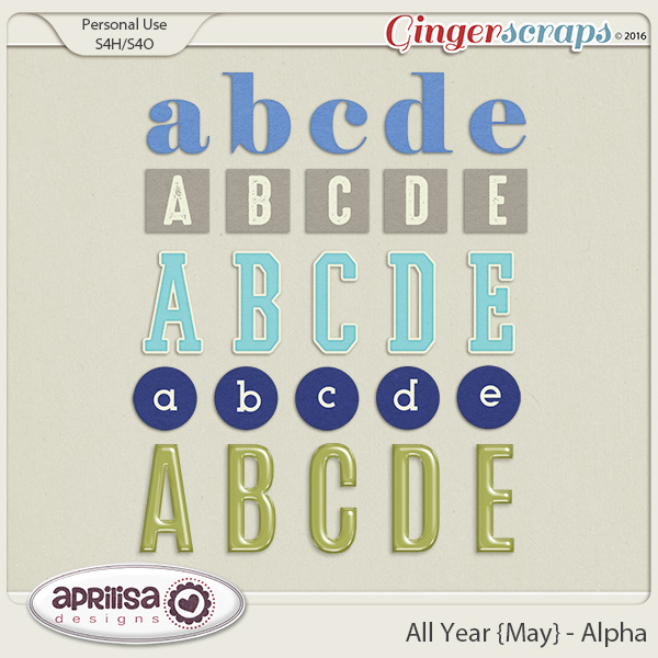 All Year {May}  - Alpha