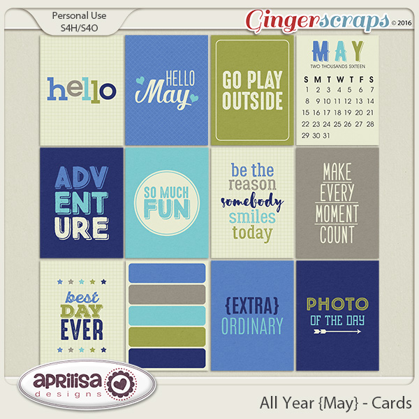 All Year {May} - Cards