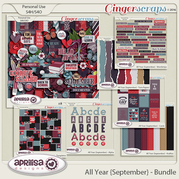 All Year {September} - Bundle