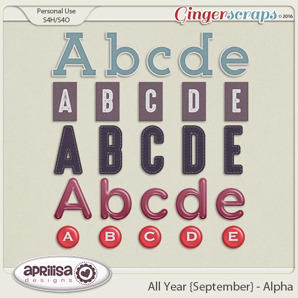 All Year {September} - Alpha