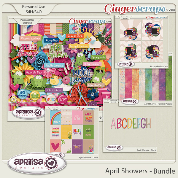 April Showers - Bundle by Aprilisa Designs