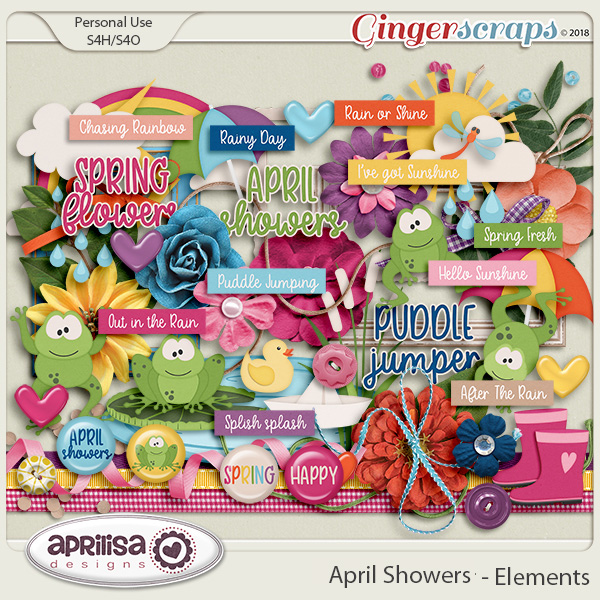 April Showers - Elements by Aprilisa Designs