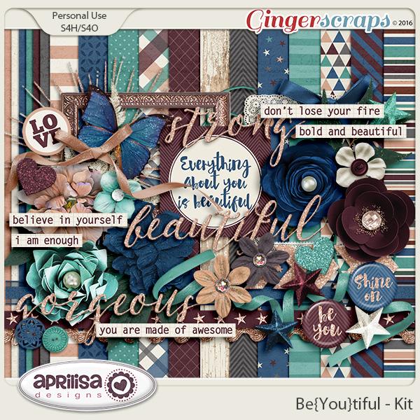 Be{You}Tiful - Kit by Aprilisa Designs