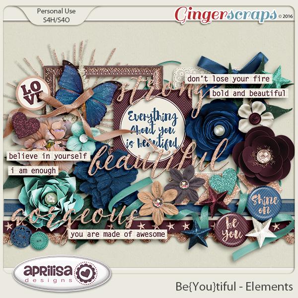 Be{You}Tiful - Elements by Aprilisa Designs