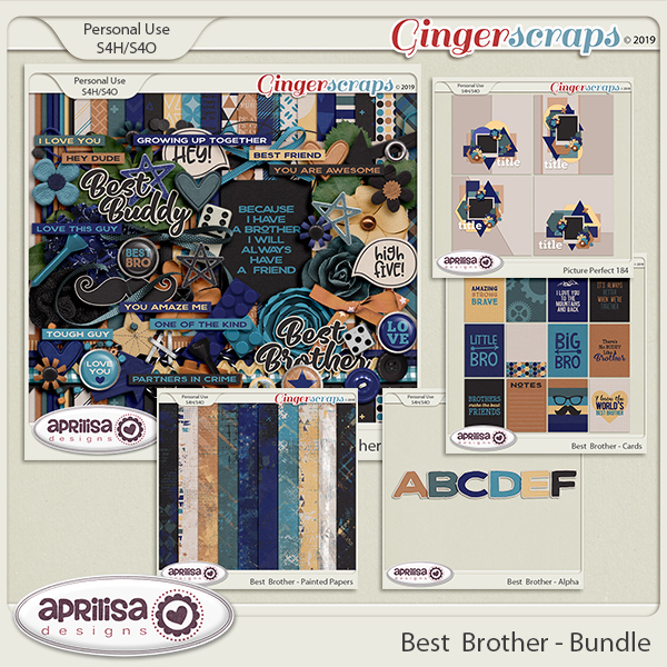 Best Brother - Bundle by Aprilisa Designs