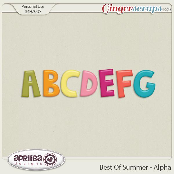 Best Of Summer - Alpha by Aprilisa Designs