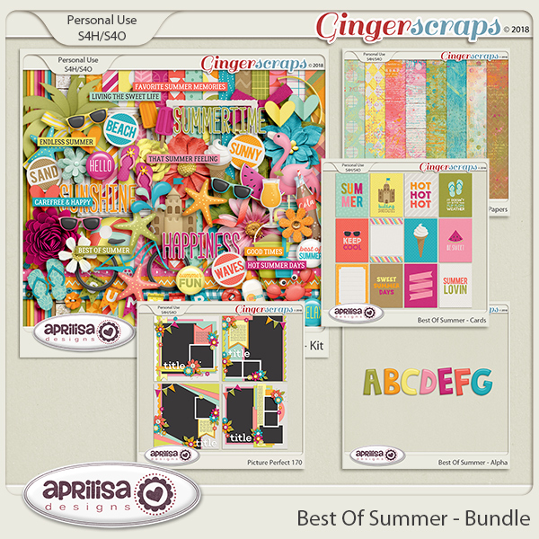 Best Of Summer - Bundle by Aprilisa Designs