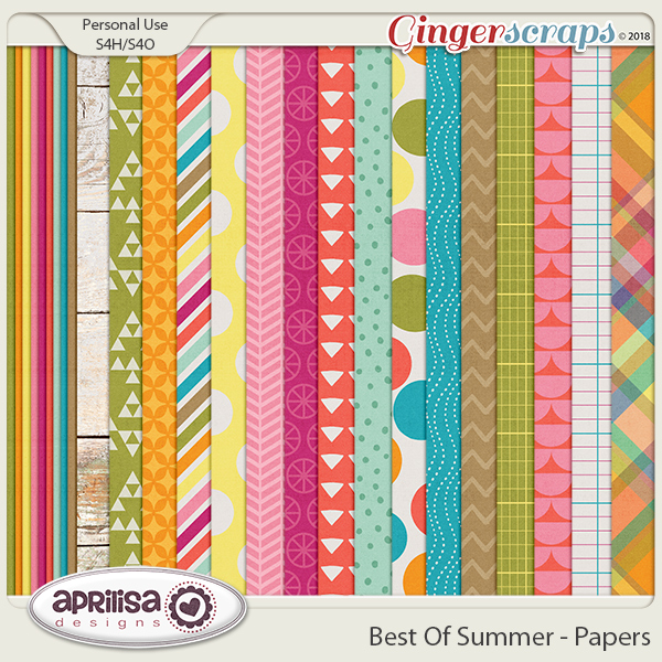Best Of Summer - Papers by Aprilisa Designs