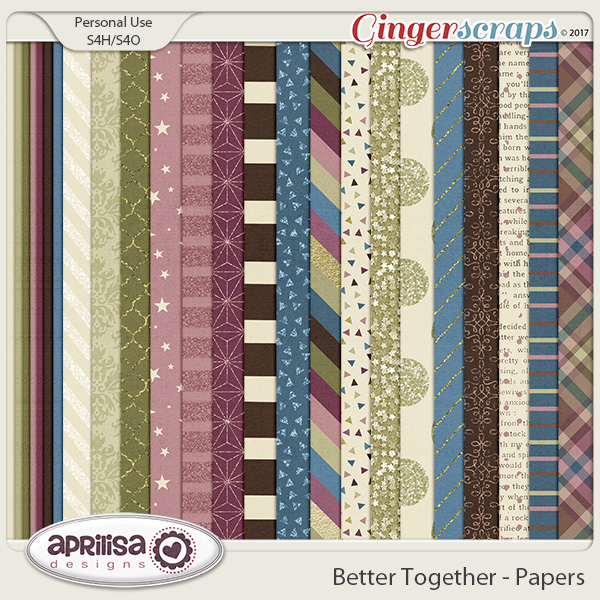 Better Together - Papers by Aprilisa Designs