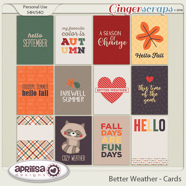 Better Weather - Cards by Aprilisa Designs