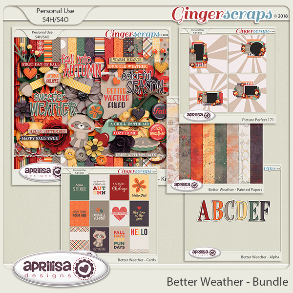 Better Weather - Bundle by Aprilisa Designs