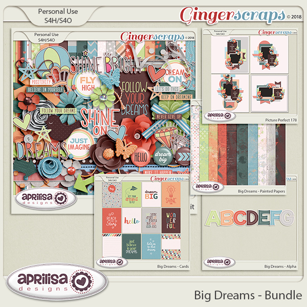 Big Dreams - Bundle by Aprilisa Designs