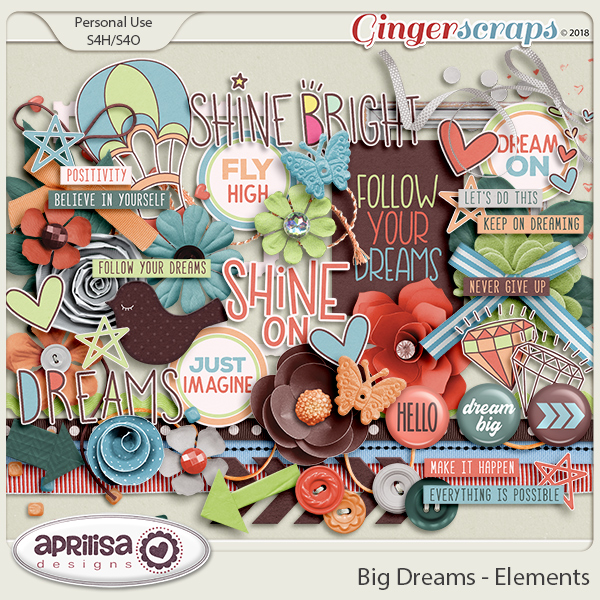 Big Dreams - Elements by Aprilisa Designs