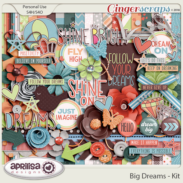 Big Dreams - Kit by Aprilisa Designs