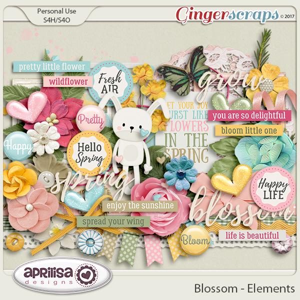 Blossom - Elements by Aprilisa Designs