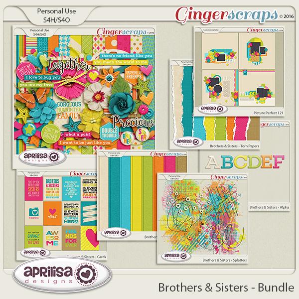 Brothers & Sisters - Bundle by Aprilisa Designs