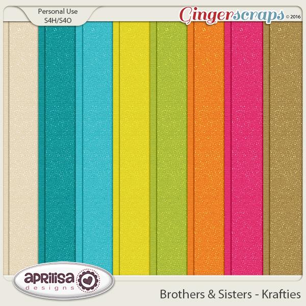 Brothers & Sisters - Krafties by Aprilisa Designs