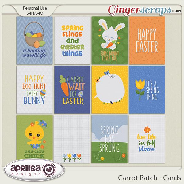 Carrot Patch - Cards by Aprilisa Designs