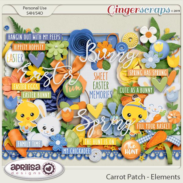 Carrot Patch - Elements by Aprilisa Designs