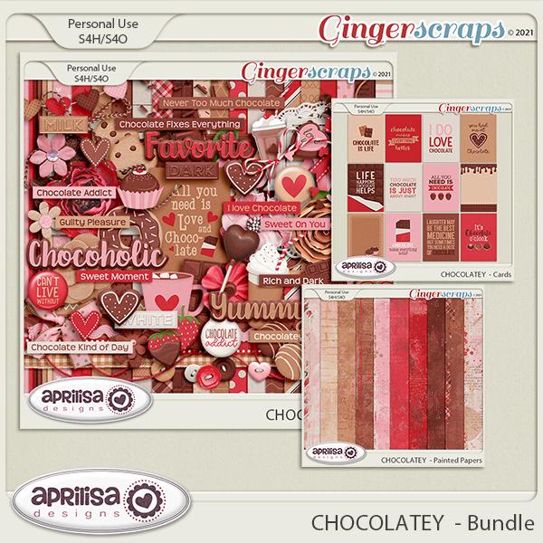 CHOCOLATEY  - Bundle by Aprilisa  Designs