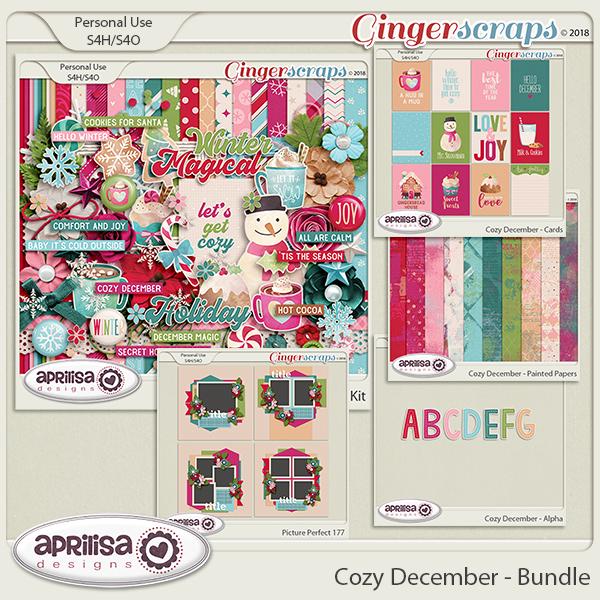 Cozy December - Bundle by Aprilisa Designs