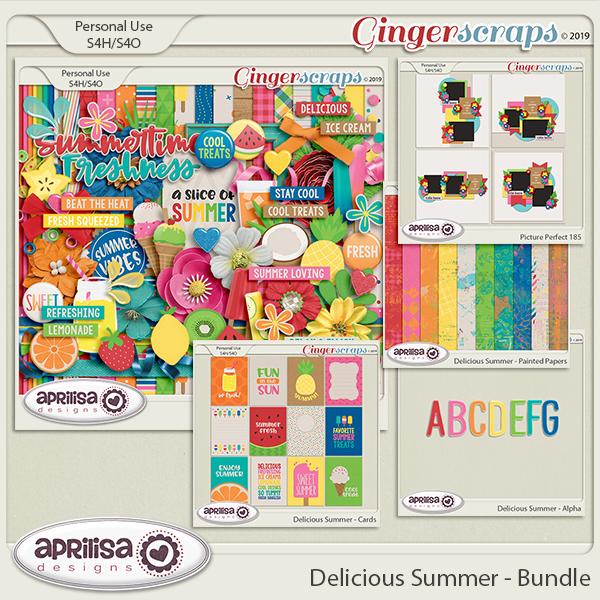 Delicious Summer - Bundle by Aprilisa Designs