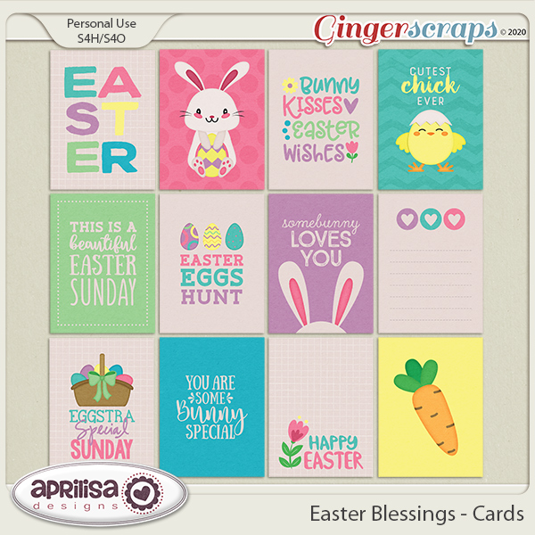 Easter Blessings - Cards by Aprilisa Designs