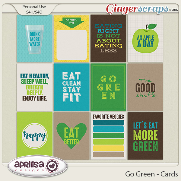 Go Green - Cards