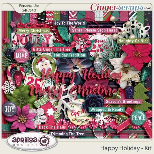 Happy Holiday - Kit