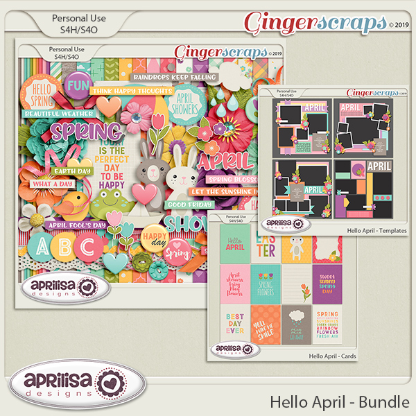 Hello April- Bundle