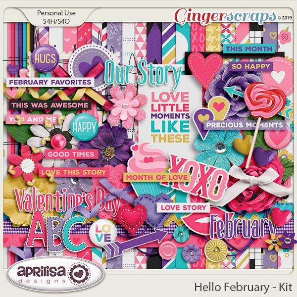 Hello February - Kit