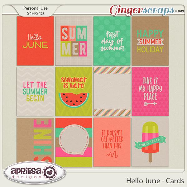 Hello June - Cards