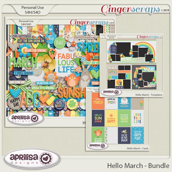 Hello March - Bundle