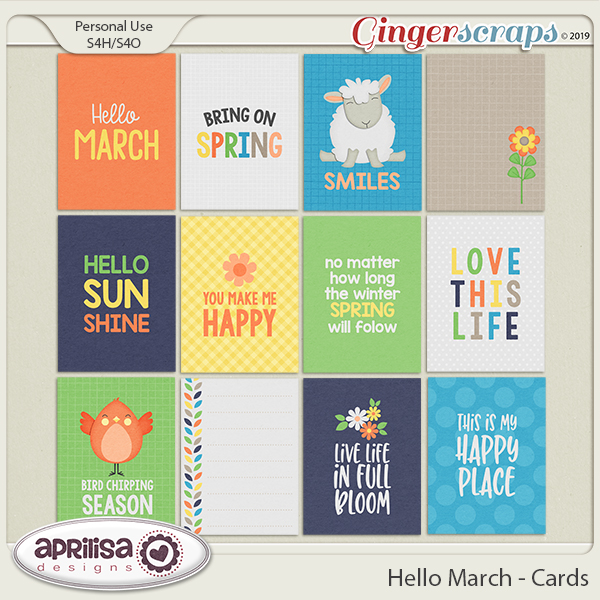 Hello March - Cards