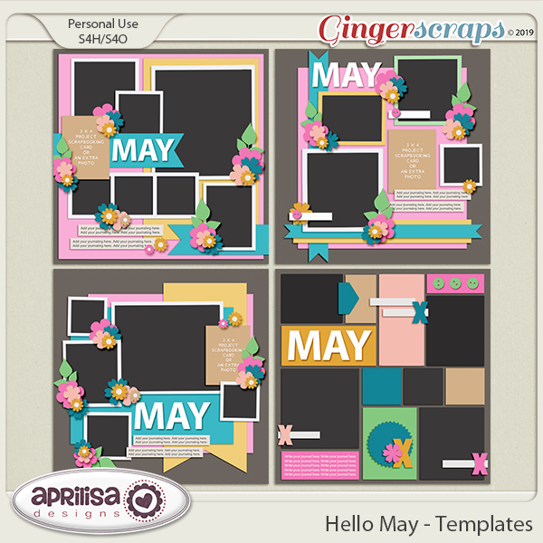 Hello May - Template Pack