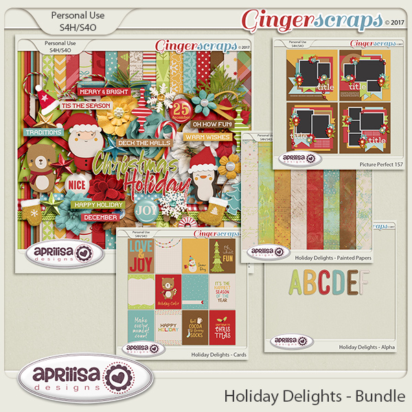 Holiday Delights - Bundle by Aprilisa Designs