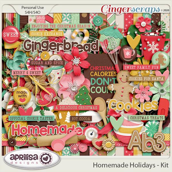 Homemade Holidays - Kit