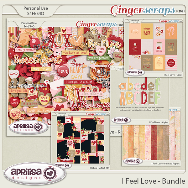 I Feel Love - Bundle by Aprilisa Designs