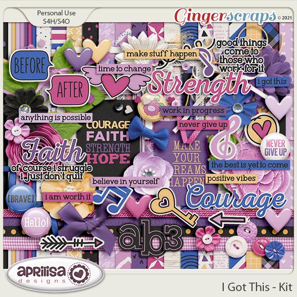 I Got This - Kit by Aprilisa Designs