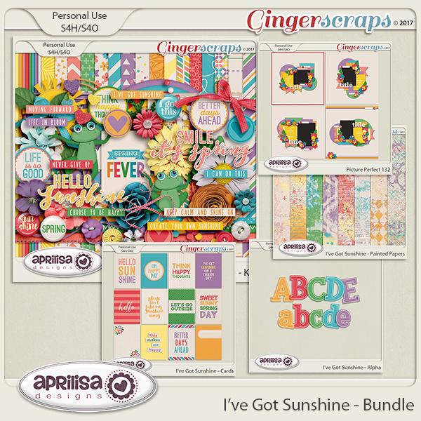 I've Got Sunshine - Bundle by Aprilisa Designs