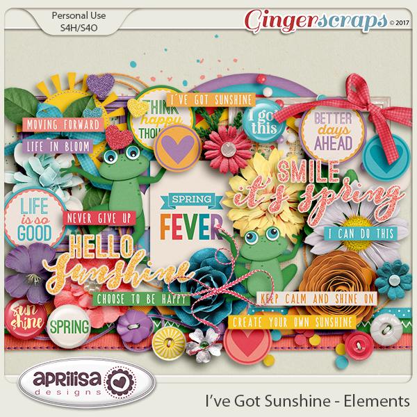 I've Got Sunshine - Elements by Aprilisa Designs