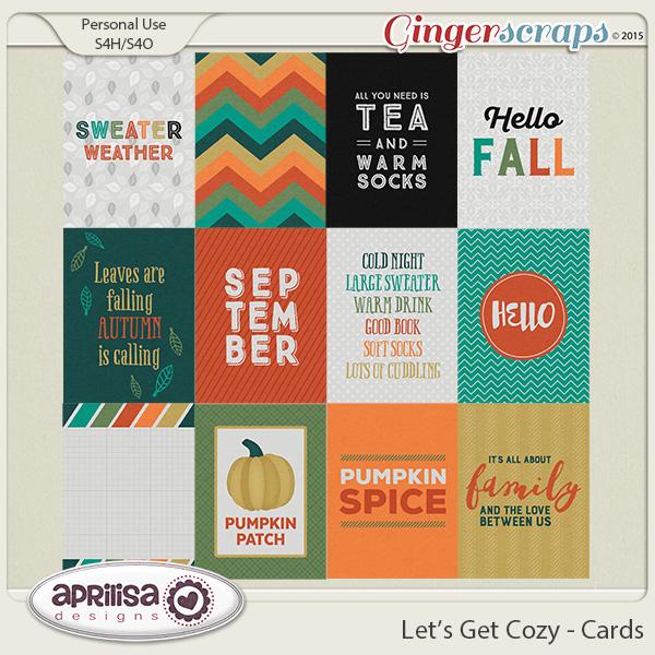Let's Get Cozy - Cards